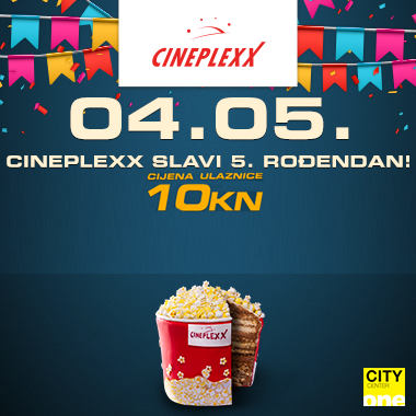Svi u kino! Cineplexx City Centre One slavi 5. rođendan!