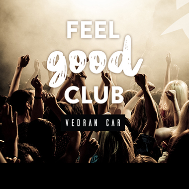 Subotom Feel Good Club uz Vedrana Cara