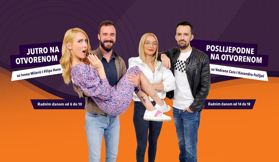 Najslušaniji radijski showovi u Hrvatskoj